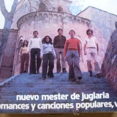Discos de vinilo: NUEVO MESTER DE JUGLARIA - ROMANCES Y CANCIONES POPULARES VOL 2 PHILIPS 1973 NUEVO A ESTRENAR. Lote 24862536