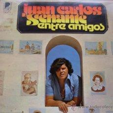 Discos de vinilo: JUAN CARLOS SENANTE - ENTRE AMIGOS BEVERLY RECORDS 1976 NUEVO. Lote 24862637