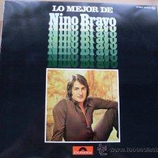 Discos de vinilo: NINO BRAVO - LO MEJOR POLYDOR 1975 NUEVO. Lote 24862669