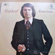 Discos de vinilo: RAPHAEL - AMOR MIO HISPAVOX 1974 NUEVO. Lote 27499480