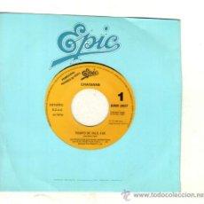 Discos de vinilo: UXV CHAYANNE SINGLE PROMOCIONAL 45 RPM 1990 TIEMPO DE VALS POP LATINO CANTANTE PUERTORIQUEÑO. Lote 23241918
