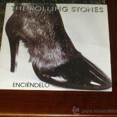 Discos de vinilo: ROLLING STONES SINGLE ENCIENDELO. Lote 21456260