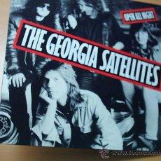Discos de vinilo: LP. THE GEORGIA SATELLITES - OPEN ALL NIGHT. Lote 27322700