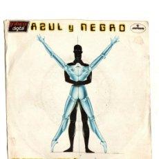 Discos de vinilo: UXV AZUL Y NEGRO SINGLE 45 RPM 1983 GRABACION DIGITAL NO TENGO TIEMPO TECHNO POP ELECTRONICA. Lote 23259804
