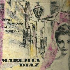 Discos de vinilo: MARUJITA DIAZ 10¨ (25 CTMS.) DEL SELLO MONTILLA EDITADO EN USA.. Lote 19999051