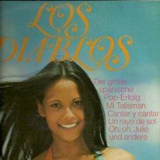 Discos de vinilo: LOS DIABLOS LP SELLO ELECTROLA EDITADO EN ALEMANIA.. Lote 19999405