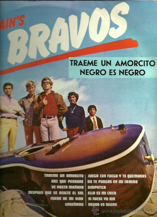 LOS BRAVOS LP SELLO LONDON PEERLESS EDITADO EN MEXICO AÑO 1968. (Música - Discos - LP Vinilo - Grupos Españoles 50 y 60)