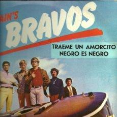Discos de vinilo: LOS BRAVOS LP SELLO LONDON PEERLESS EDITADO EN MEXICO AÑO 1968.. Lote 19999449