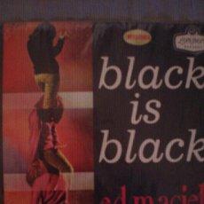 Discos de vinilo: ED MACIEL Y SU ORQUESTA-BLACK IS BLACK-EDICION COLOMBIANA-MONOFONICO.. Lote 27617563