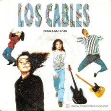 Discos de vinilo: SINGLE PROMOCIONAL - LOS CABLES (1992). Lote 20015997