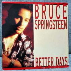 Discos de vinilo: BRUCE SPRINGSTEEN - MAXI-SINGLE 12'' - 3 TRACKS - BETTER DAYS + 2 - EDITADO HOLANDA - COLUMBIA 1992.. Lote 22133374