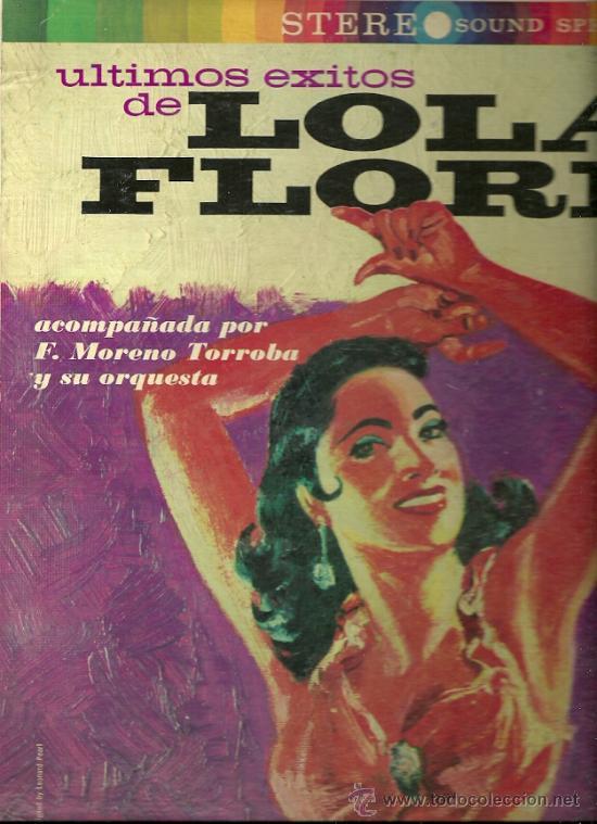 LOLA FLORES LP SELLO SEECO EDITADO EN USA. CON LA ORQUESTA DE FEDERICO MORENO TORROBA (Música - Discos - LP Vinilo - Flamenco, Canción española y Cuplé)