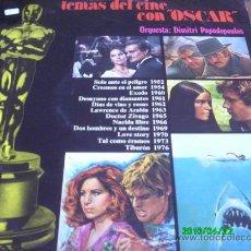 Discos de vinilo: TEMAS DE CINE CON OSCAR,, ORQUESTA DIMITRI PPADOPOULOS.... Lote 27597100