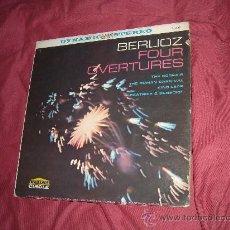 Discos de vinilo: BERLIOZ FOUR OVERTURES LP JEAN MARTINON GLS 4304. Lote 20045262