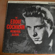 Discos de vinilo: EDDIE COCHRAN MEMORIAL ALBUM VG+++ ORIGINAL UK LIBERTY 1963!! ELVIS PRESLEY GENE VINCENT BUDDY HOLLY. Lote 26628398