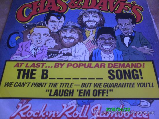 CHAS & DAVE,S,, AT LAST BY POPULAR DEMAND THE B-----SONG.. ROCK,ROLL JAMBOREE. MAXI-LP MADE IN ENGLA (Música - Discos de Vinilo - Maxi Singles - Pop - Rock Internacional de los 70)