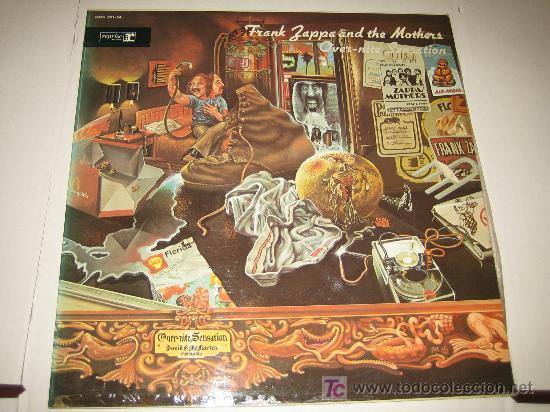 FRANK ZAPPA - OVER-NITE SENSATION - ED. ESPAÑOLA 1973 - (Música - Discos - LP Vinilo - Pop - Rock - Extranjero de los 70)