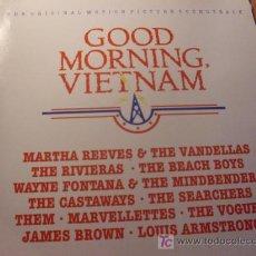 Discos de vinilo: GOOD MORNNG VIETNAM LP BSO ESPAÑA 1988 (VIN22). Lote 20081594