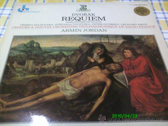 DVORAK,, REQUIEN..MISSA PRO DEFUNCTIS,OP 89. T.ZYLIS-S.TOCZYSKA-P.DVORSKY- DIR. ARMIN JORDAN. 2 LPS. (Música - Discos - LP Vinilo - Clásica, Ópera, Zarzuela y Marchas)