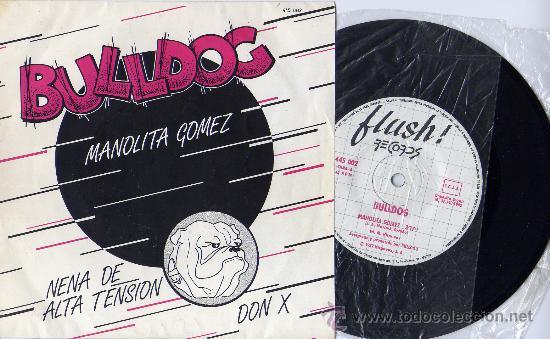 BULLDOG MANOLITA GÓMEZ + 2 EP TONY LUZ ROCK & ROLL CLÁSICO SPAIN (Música - Discos de Vinilo - EPs - Grupos Españoles de los 70 y 80)