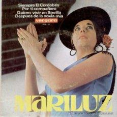 Discos de vinilo: MARILUZ // SIEMPRE EL CORDOBES // EP 1966. Lote 26343596