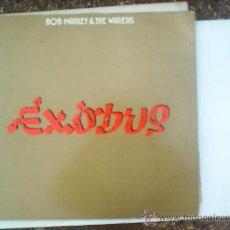 Discos de vinilo: LP DE BOB MARLEY ,EXODUS 1977 . Lote 20074980