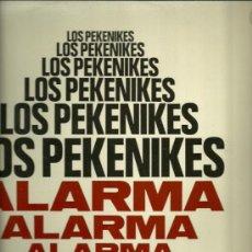 Discos de vinilo: LOS PEKENIKES LP SELLO HISPAVOX AÑO 1969 ALARMA. Lote 20083247