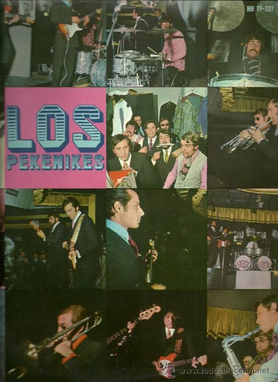 LOS PEKENIKES LP SELLO HISPAVOX AÑO 1967 (Música - Discos - LP Vinilo - Grupos Españoles 50 y 60)
