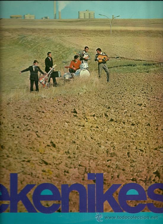 LOS PEKENIKES LP SELLO HISPAVOX AÑO 1966 (Música - Discos - LP Vinilo - Grupos Españoles 50 y 60)