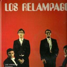 Discos de vinilo: LOS RELAMPAGOS LP SELLO SELLO FONTANA AÑO 1969. Lote 20089701