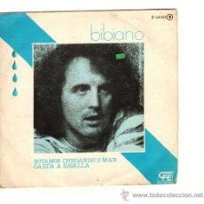 Discos de vinilo: UXV BIBIANO MORON SINGLE PROMOCIONAL 45 RPM 1976 ESTAMOS LLEGANDO AL MAR CANTAUTOR GALLEGO RARO . Lote 25789443