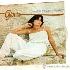 Discos de vinilo: UXV GLORIA SINGLE 45 RPM 1979 CONTRA VIENTO Y MAREA PERDONA PERO CREO QUE TE QUIERO. Lote 25789446