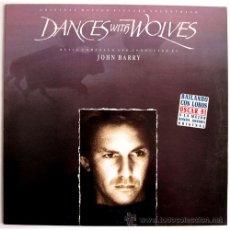 Discos de vinilo: JOHN BARRY - DANCES WITH WOLVES (BSO) - LP SPAIN 1990 – EPIC EPC 467591 1. Lote 20122215