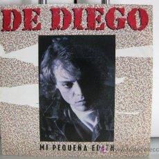 Discos de vinilo: DE DIEGO - MI PEQUEÑA EDITH - SINGLE 1988 WEA RECORDS BPY. Lote 26933759