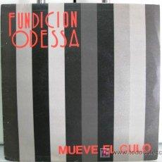Discos de vinilo: FUNDICIÓN ODESSA - MUEVE EL CULO - SINGLE 1988 POLYDOR BPY. Lote 20129230