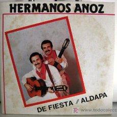 Discos de vinilo: HERMANOS ANOZ - DE FIESTA - SINGLE 1985 DIAL (PROMO) BPY. Lote 26639083