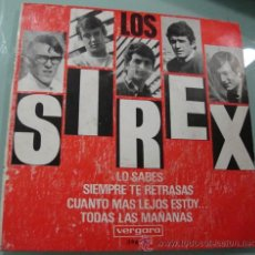 Discos de vinilo: LOS SIREX - LO SABES - EP DE 1966. Lote 20151137