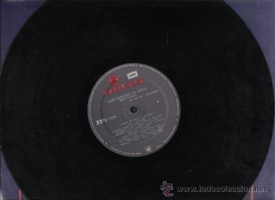 Discos de vinilo: DEEP PURPLE-LAST CONCERT IN JAPAN-EDICION COLOMBIANA ORIGINAL DE 1978. - Foto 4 - 26420285
