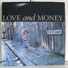 Disques de vinyle: LOVE AND MONEY - JOCELYN SQUARE - MAXI FONTANA 1989 BPY. Lote 26487065