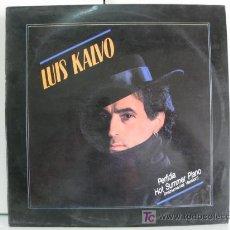 Discos de vinilo: LUIS KALVO - PERFIDIA - MAXI RAYA RECORDS 1987 (ITALO DANCE) BPY. Lote 27082845