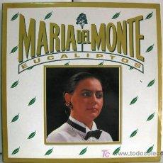 Discos de vinilo: MARIA DEL MONTE - EUCALIPTOS - MAXI HORUS 1989 BPY. Lote 223658311