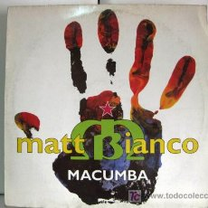 Discos de vinil: MATT BIANCO - MACUMBA - MAXI EASTWEST 1991 (FEATURING RAP BY CHULITO) BPY. Lote 20199932