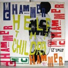 Discos de vinilo: MC HAMMER - HELP THE CHILDREN - MAXI CAPITOL 1990 (DOWNTEMPO, SOUL) BPY. Lote 20204581