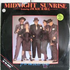 Discos de vinilo: MIDNIGHT SUNRISE FEAT. JACKIE RAWE - IN AT THE DEEP END - MAXI NIGHTMARE RECORDS 1986 BPY. Lote 20213145