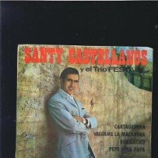 Discos de vinilo: SANTY CASTELLANOS CARTAGENERA. Lote 20189832
