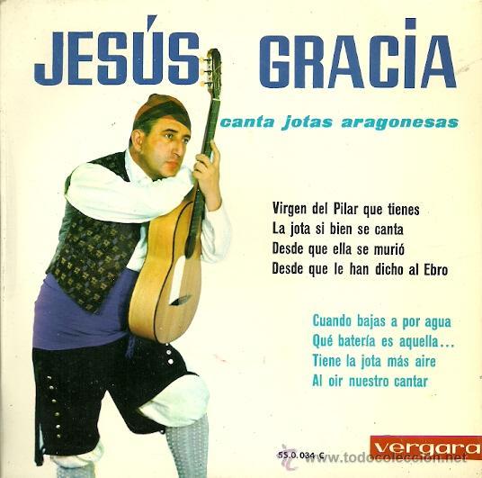 JESUS GRACIA (JOTAS) EP SELLO VERGARA AÑO 1963 (Música - Discos de Vinilo - EPs - Otros estilos)