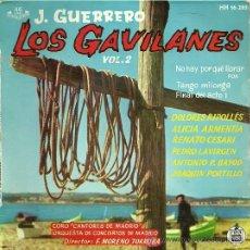 Discos de vinilo: LOS GAVILANES (ZARZUELA) EP SELLO HISPAVOX AÑO 1961 PEDRO LAVIRGEN / DOLORES RIPOLLES. Lote 20207795