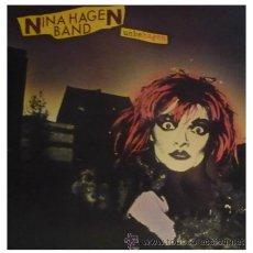 NINA HAGEN - UNBEHAGEN - LP RARO 1ª EDICION ESPAÑOLA COMPLETA