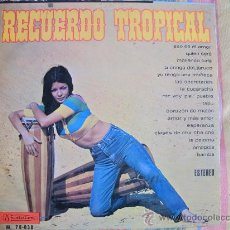 Discos de vinilo: LP - DON CRISTOBAL Y SU ORQUESTA - RECUERDO TROPICAL - ORIGINAL ESPAÑOL, MUSIDISC 1968. Lote 20218032