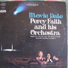 Disques de vinyle: LP - PERCY FAITH Y SU GRAN ORQUESTA - MOVIE DATE - ORIGINAL AMERICANO, COLUMBIA RECORDS 1967. Lote 20228622